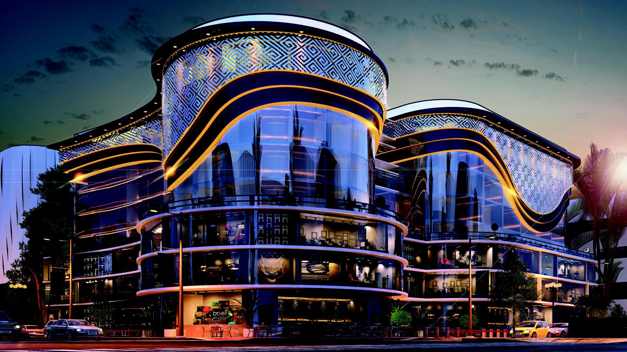 حي المال والاعمال – مول شانزليزيه – Champ Elysees Mall