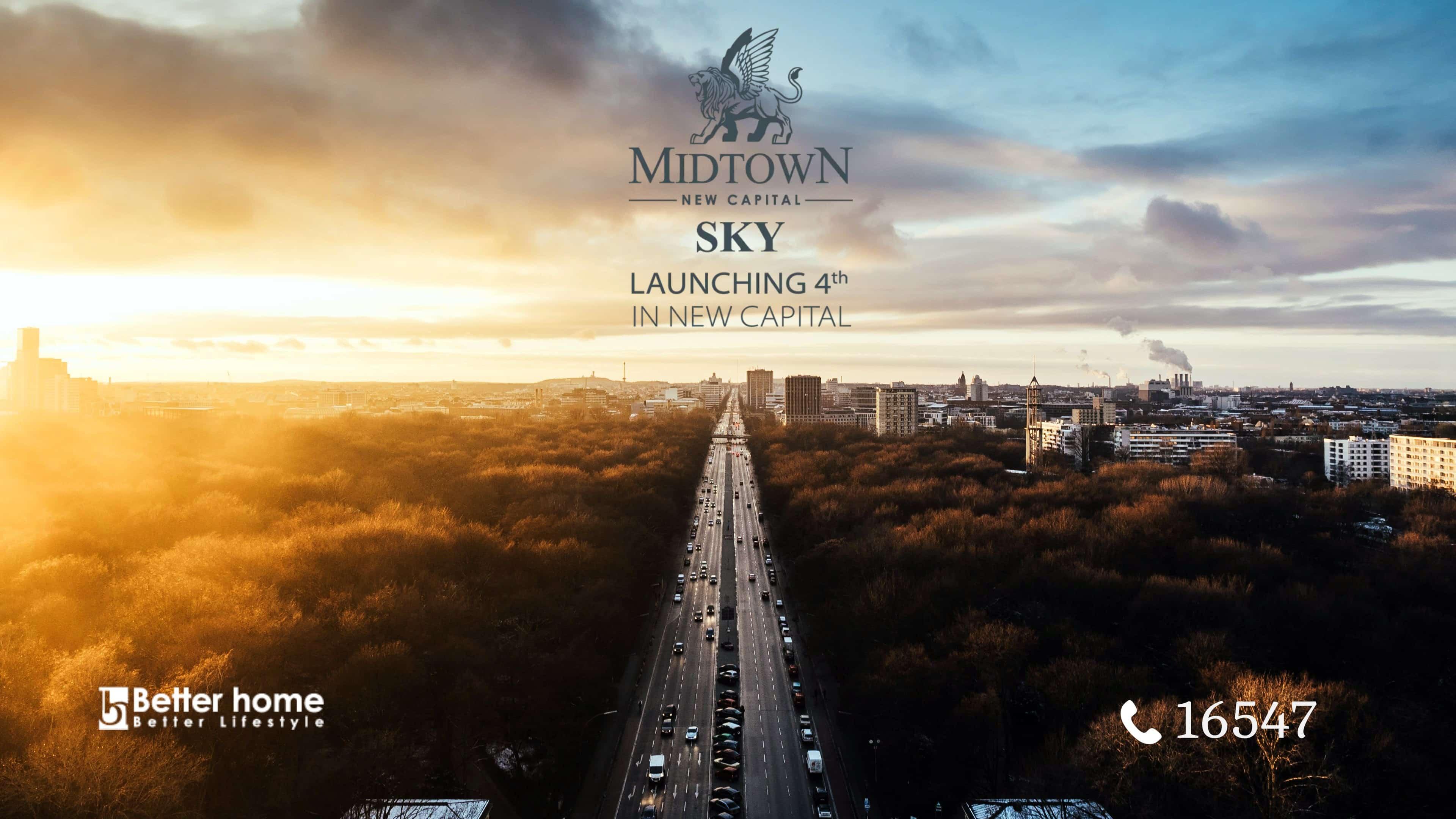 ميدتاون سكاى العاصمة الادارية – Midtown Sky New Capital