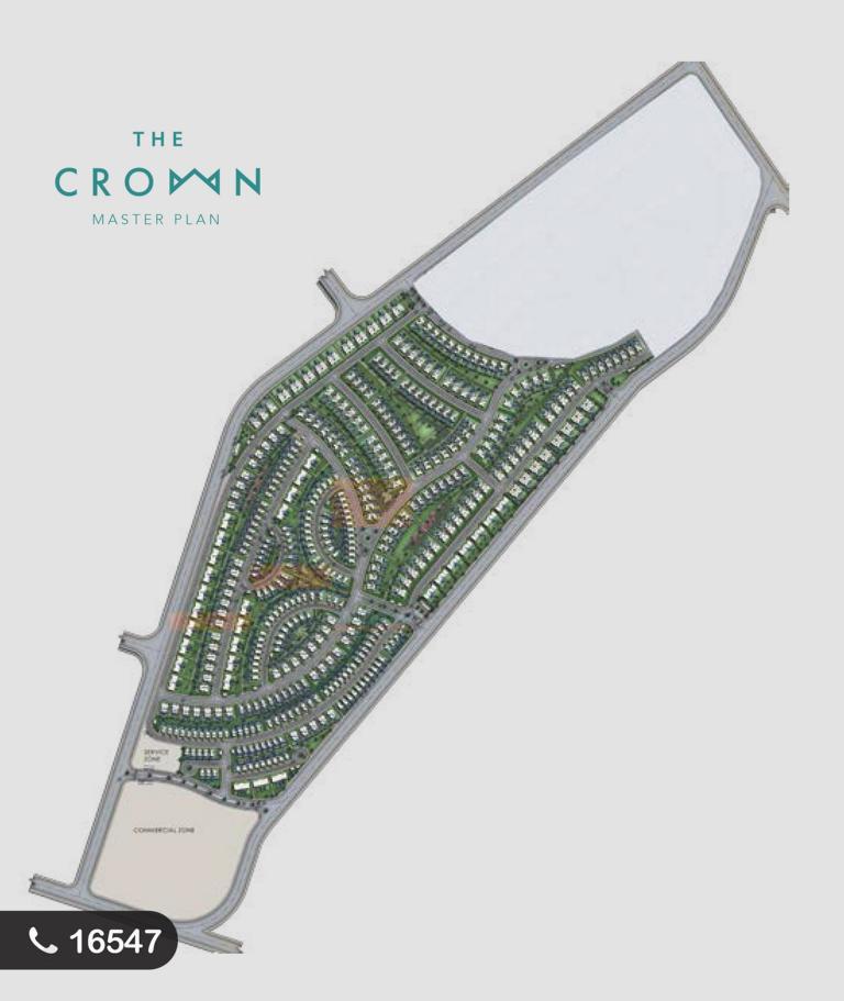 خريطة مشروع ذا كراون اكتوبر